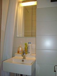 Small Apartment / Ensuit, view F (bathroom)