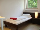 2-Zimmer Apartment / small room, view A (bed)